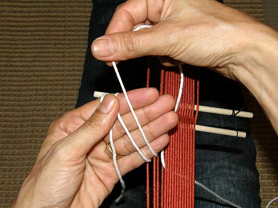 heddles step 5