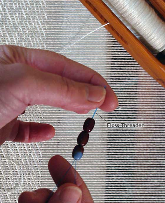 Threading the Weft