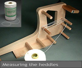 Making the heddles