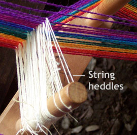string heddles