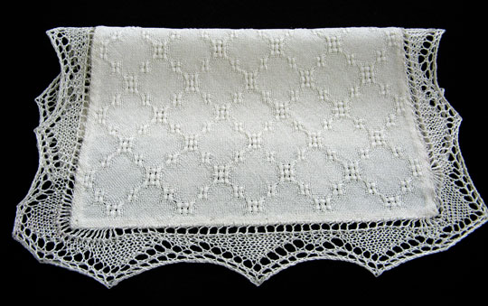 lace antimacassar