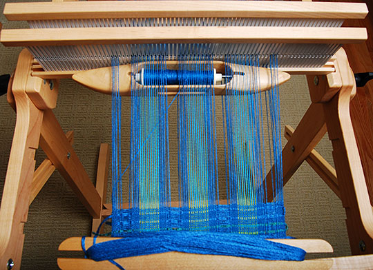 starting to weave